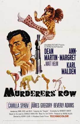 Murderers' Row - 11 x 17 Movie Poster - Style B