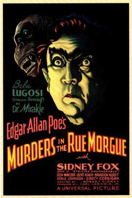 Murders in the Rue Morgue - 11 x 17 Movie Poster - Style A