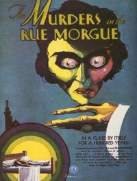 Murders in the Rue Morgue - 11 x 17 Movie Poster - Style B