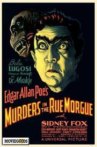 Murders in the Rue Morgue - 43 x 62 Movie Poster - Bus Shelter Style A