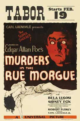 Murders in the Rue Morgue - 11 x 17 Movie Poster - Style C