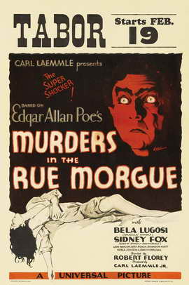 Murders in the Rue Morgue - 27 x 40 Movie Poster - Style B