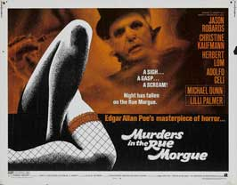 Murders in the Rue Morgue - 22 x 28 Movie Poster - Half Sheet Style A