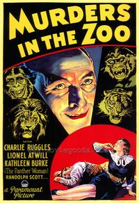 Murders in the Zoo - 27 x 40 Movie Poster - Style A