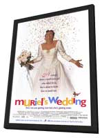 Muriel's Wedding - 27 x 40 Movie Poster - Style A - in Deluxe Wood Frame