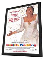 Muriel's Wedding - 11 x 17 Movie Poster - Style B - in Deluxe Wood Frame