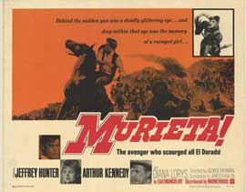Murieta - 11 x 14 Movie Poster - Style A