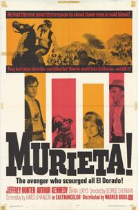 Murieta - 27 x 40 Movie Poster - Style A