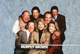 Murphy Brown (TV) - 11 x 17 TV Poster - Style A