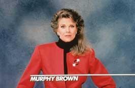 Murphy Brown (TV) - 11 x 17 TV Poster - Style D