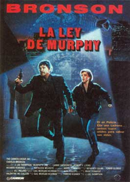 Murphy's Law - 27 x 40 Movie Poster - Spanish Style A