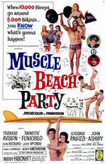 Muscle Beach Party - 11 x 17 Movie Poster - Style A