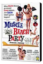 Muscle Beach Party - 11 x 17 Movie Poster - Style A - Museum Wrapped Canvas