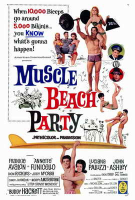 Muscle Beach Party - 27 x 40 Movie Poster