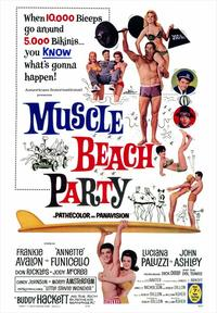 Muscle Beach Party - 43 x 62 Movie Poster - Bus Shelter Style A