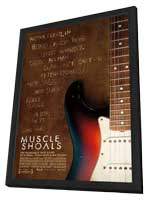 Muscle Shoals - 11 x 17 Movie Poster - Style A - in Deluxe Wood Frame