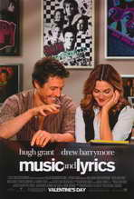 Music and Lyrics - 11 x 17 Movie Poster - Style A