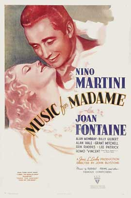 Music for Madame - 11 x 17 Movie Poster - Style A