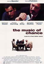 The Music of Chance - 11 x 17 Movie Poster - Style A