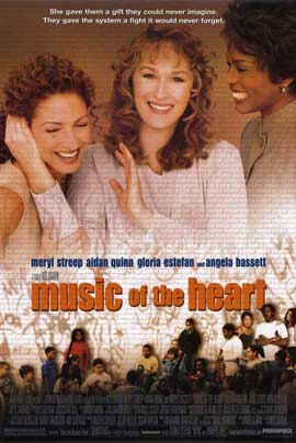 Music of the Heart - 11 x 17 Movie Poster - Style B