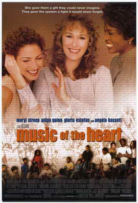 Music of the Heart - 27 x 40 Movie Poster - Style B