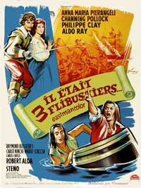 Musketeers of the Sea - 11 x 17 Movie Poster - French Style A