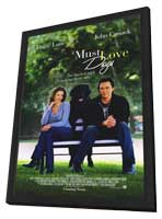 Must Love Dogs - 11 x 17 Movie Poster - Style A - in Deluxe Wood Frame