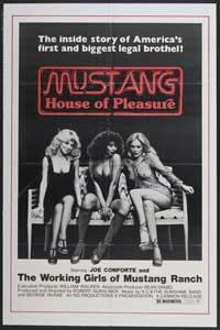 Mustang House of Pleasure - 11 x 17 Movie Poster - Style A