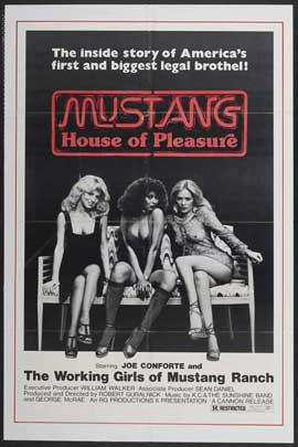 Mustang House of Pleasure - 27 x 40 Movie Poster - Style A