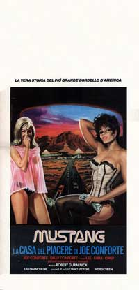Mustang House of Pleasure - 13 x 28 Movie Poster - Italian Style A