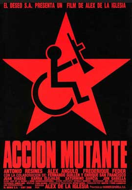 Mutant Action - 11 x 17 Movie Poster - Spanish Style A