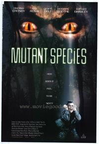 Mutant Species - 27 x 40 Movie Poster - Style A