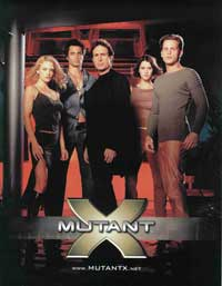 Mutant X (TV) - 43 x 62 TV Poster - Style A
