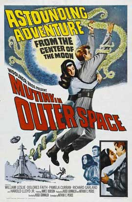 Mutiny in Outer Space - 27 x 40 Movie Poster - Style A