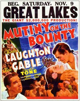 Mutiny on the Bounty - 11 x 17 Movie Poster - Style A