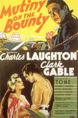 Mutiny on the Bounty - 11 x 17 Movie Poster - Style B