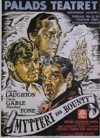 Mutiny on the Bounty - 11 x 17 Movie Poster - Danish Style A