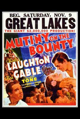 Mutiny on the Bounty - 27 x 40 Movie Poster - Style A
