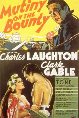 Mutiny on the Bounty - 27 x 40 Movie Poster - Style B