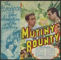 Mutiny on the Bounty - 30 x 30 Movie Poster - Style A
