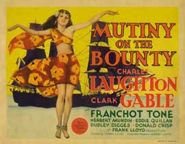 Mutiny on the Bounty - 22 x 28 Movie Poster - Half Sheet Style A