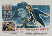 Mutiny on the Bounty - 27 x 40 Movie Poster - Belgian Style A