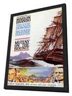 Mutiny on the Bounty - 11 x 17 Movie Poster - Style A - in Deluxe Wood Frame