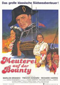 Mutiny on the Bounty - 11 x 17 Movie Poster - German Style A