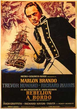 Mutiny on the Bounty - 11 x 17 Movie Poster - Spanish Style A