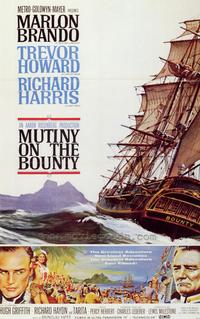 Mutiny on the Bounty - 43 x 62 Movie Poster - Bus Shelter Style A