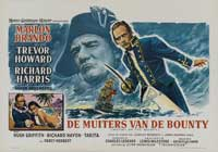 Mutiny on the Bounty - 11 x 17 Movie Poster - Belgian Style A