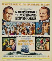 Mutiny on the Bounty - 11 x 17 Movie Poster - Style D
