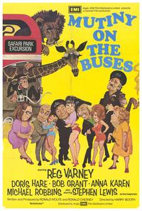 Mutiny on the Buses - 27 x 40 Movie Poster - Style A
