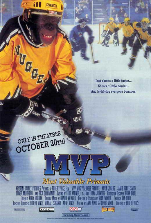 mvp most valuable primate movie posters from movie